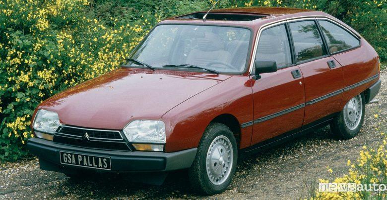 Tetto auto Citroën GSA Pallas
