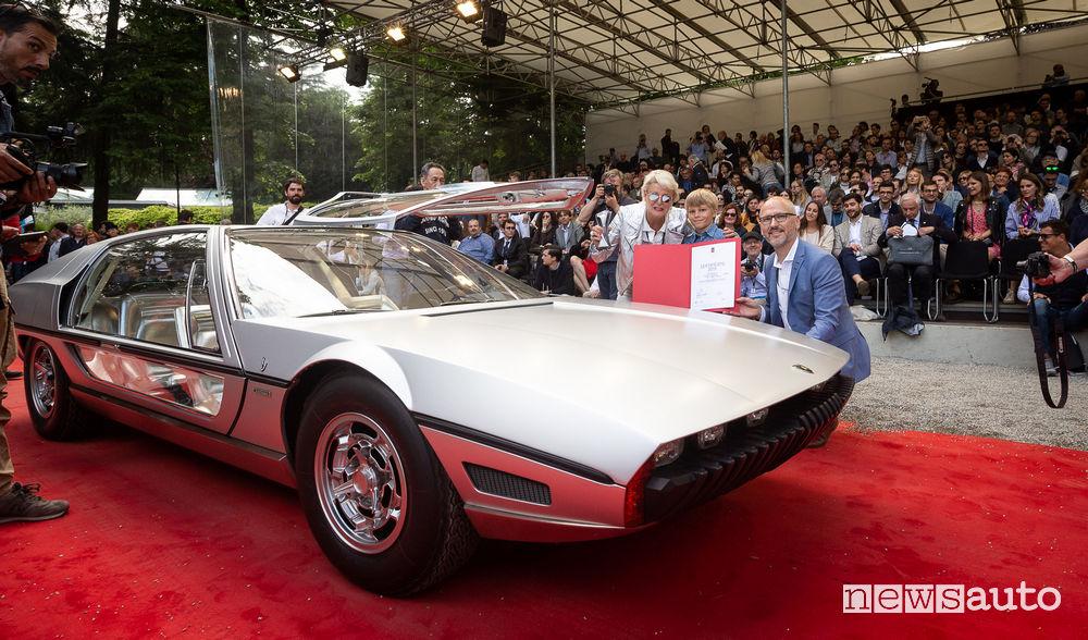 Lamborghini Marzal (1967) al Concorso Villa d'Este 2019