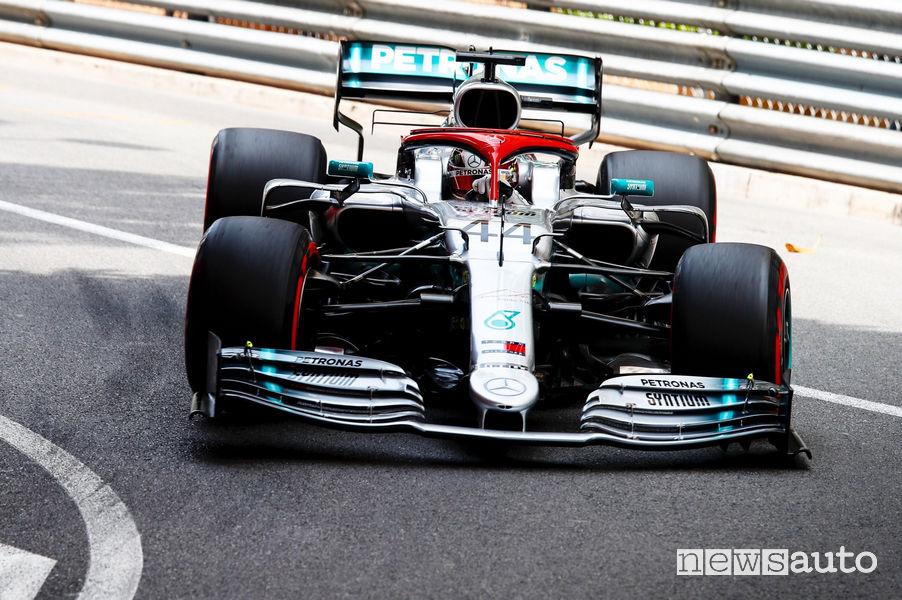 Lewis Hamilton Mercedes-AMG W10