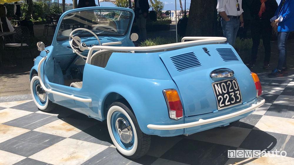 Fiat 500 Jolly Icon-e Garage Italia vista posteriore