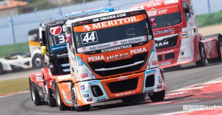 Gare camion, programma Gran Prix Truck Misano