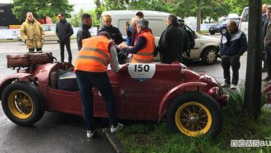 incidenti mille miglia 2019 maserati