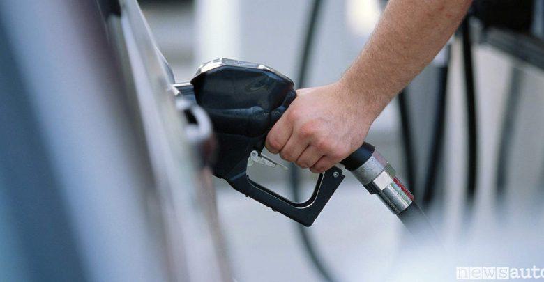 Pompa rifornimento diesel gasolio