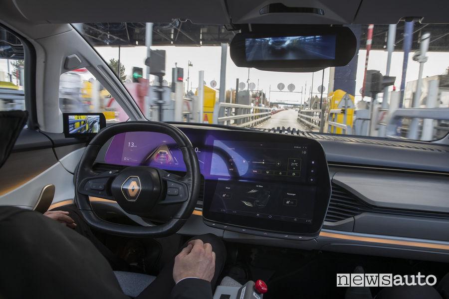 Auto a guida autonoma secondo il proprio stile di guida
