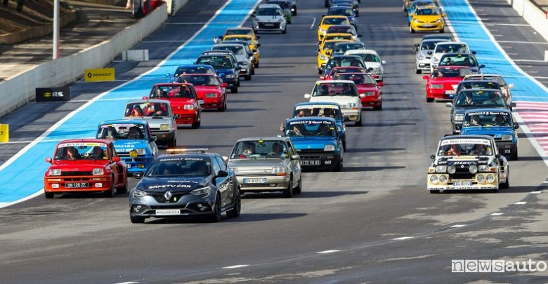 R.S. Days 2019, calendario track day Renault Sport