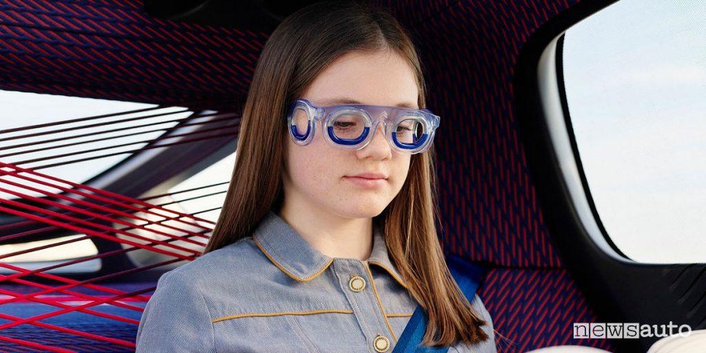 Mal d'auto, nuovi occhiali Seetroën S19 by Citroën