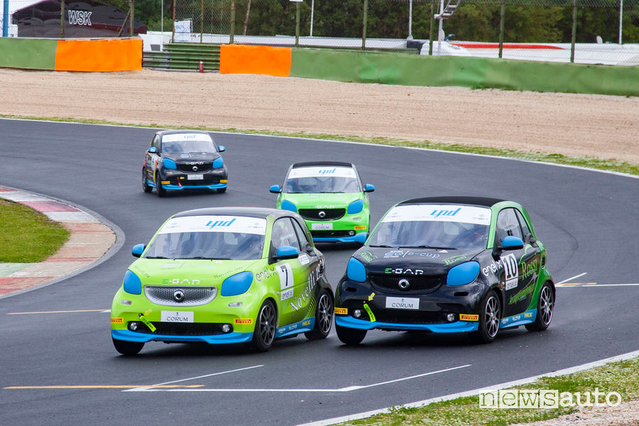 smart EQ fortwo e-cup Vallelunga 2019