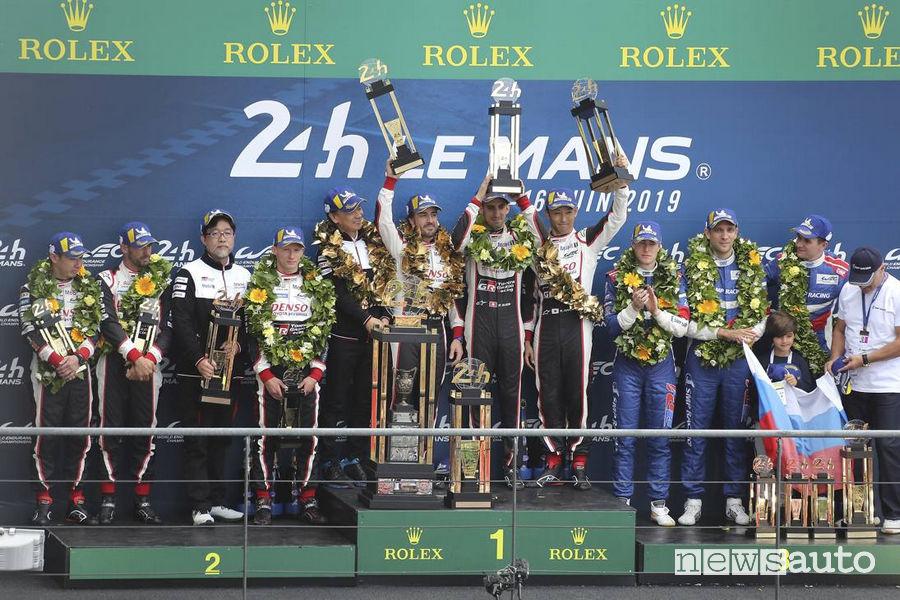 Podio 24 Ore Le Mans 2019