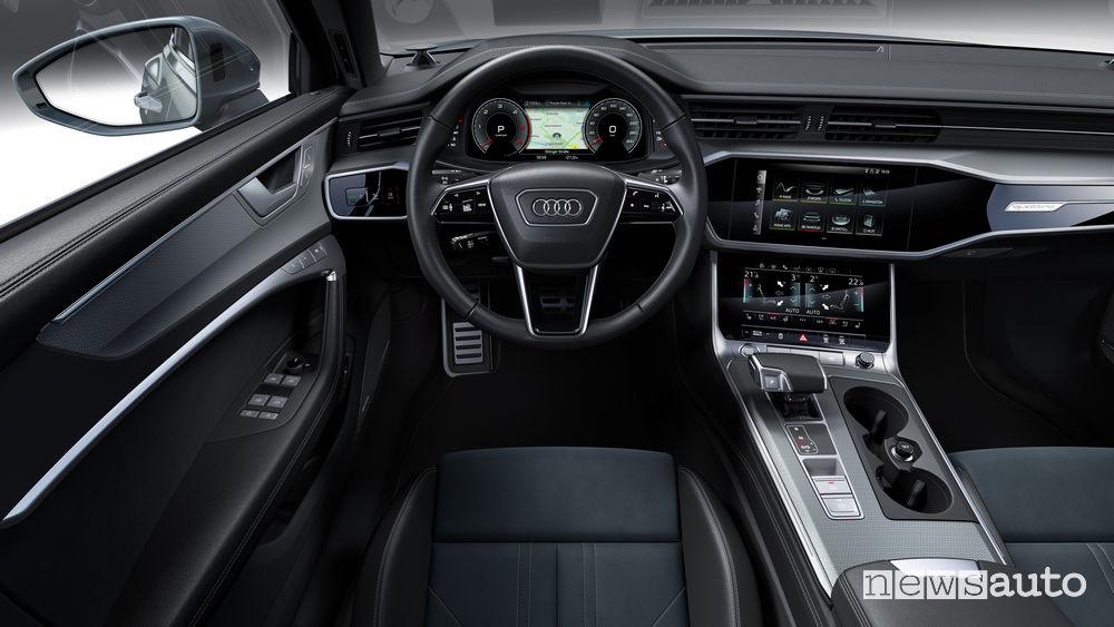 Audi A6 allroad quattro plancia strumenti
