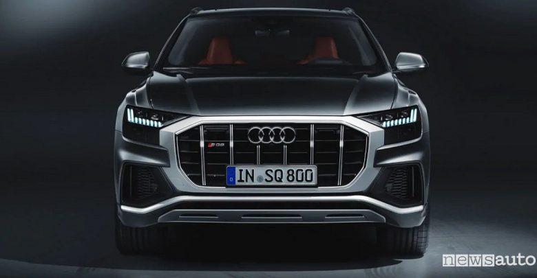 Audi SQ8 TDI frontale