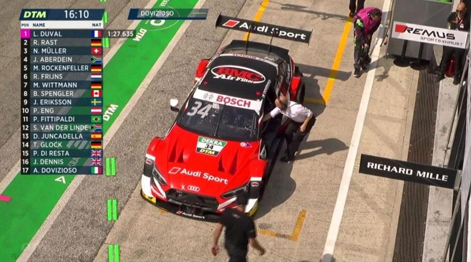 Audi con la livrea rossa di Andrea Dovizioso a Misano Adriatico 2019