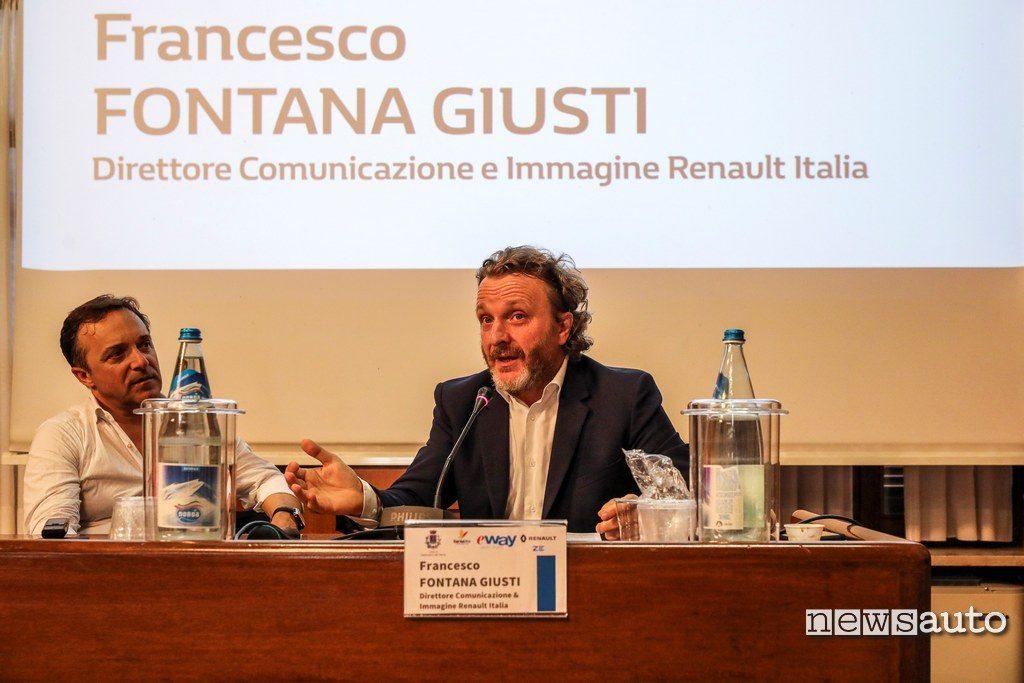 Francesco Fontana Giusti, Direttore Comunicazione e Immagine di Renault Italia