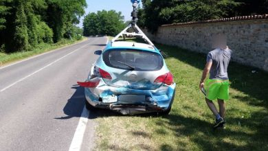 Photo of Auto Google Street View, incidente in provincia di Piacenza