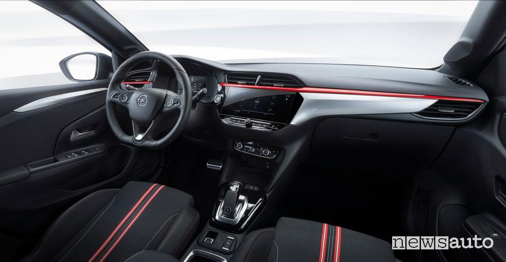 Opel Corsa 2019 plancia strumenti
