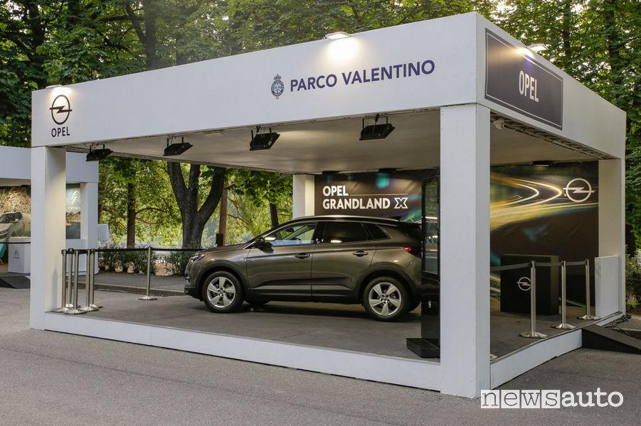 Stand Opel al Salone dell'Auto di Torino Parco Valentino 2019