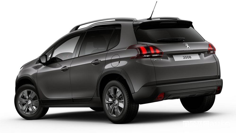 Peugeot 2008 Signature vista posteriore