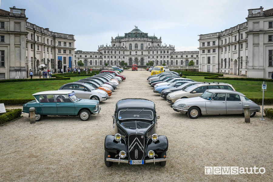 Raduno di Torino del Centenario Citroën al Parco Valentino 2019