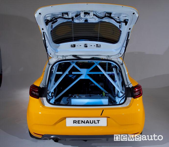 Renault Clio Cup, Rally e RX 2019 roll-bar a gabbia