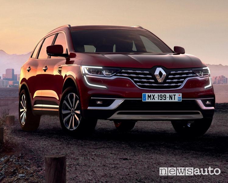 Nuovo Renault Koleos 2019, vista di profilo