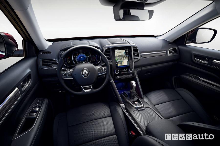 """Nuovo Renault Koleos 2019 display R-LINK 2 verticale da 8,7"""""""