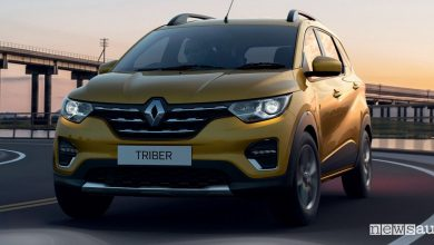 SUV sette posti low cost Renault Triber