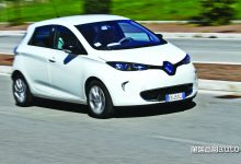 Renault Zoe frontale movimento