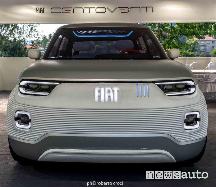 Salone Auto di Torino Parco Valentino 2019: Fiat Centoventi Concept