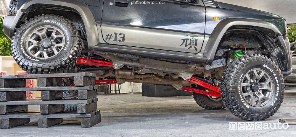 Salone Auto di Torino Parco Valentino 2019: Suzuki Jimny Gan by Z.Mode