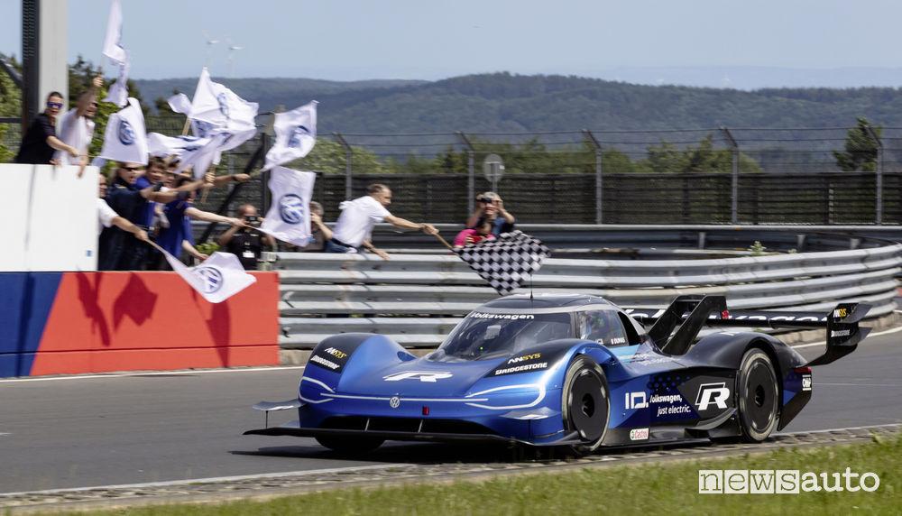 Record Volkswagen ID.R Nurburgring