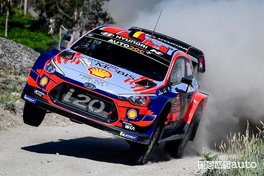 WRC Rally Portogallo 2019 Neuville Hyundai i20