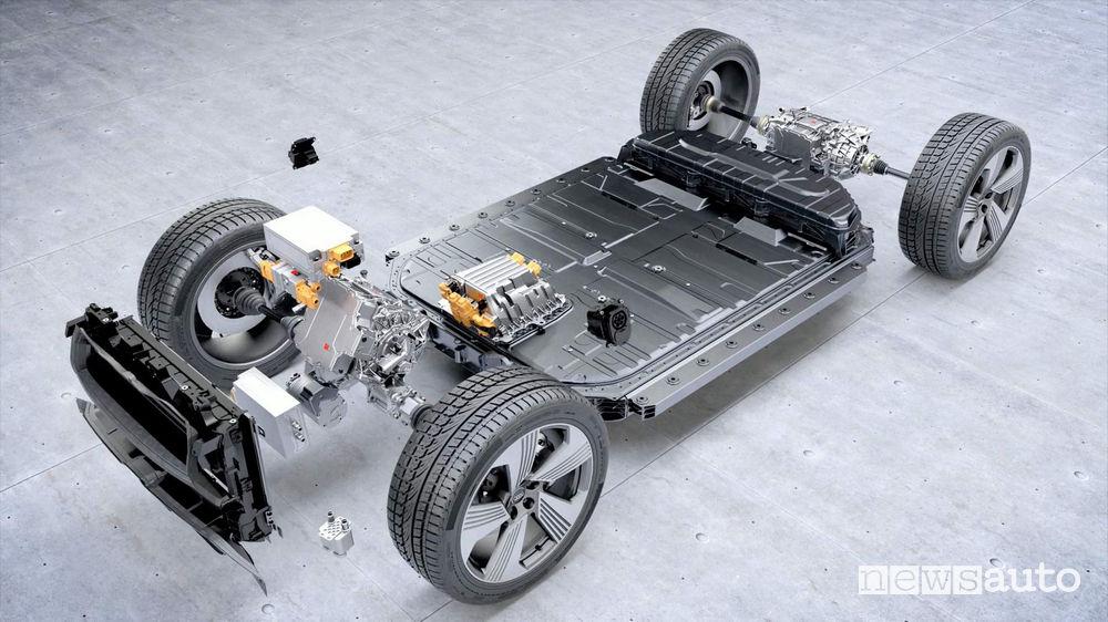rischio incendio batteria Audi e-tron