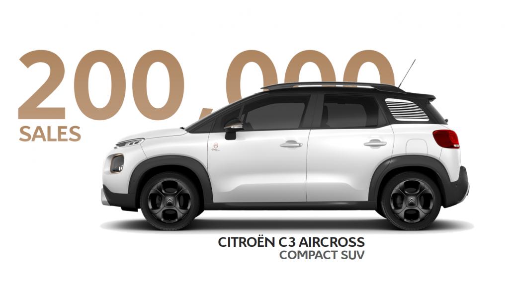 Citroën C3 Aircross 200.000 vendite