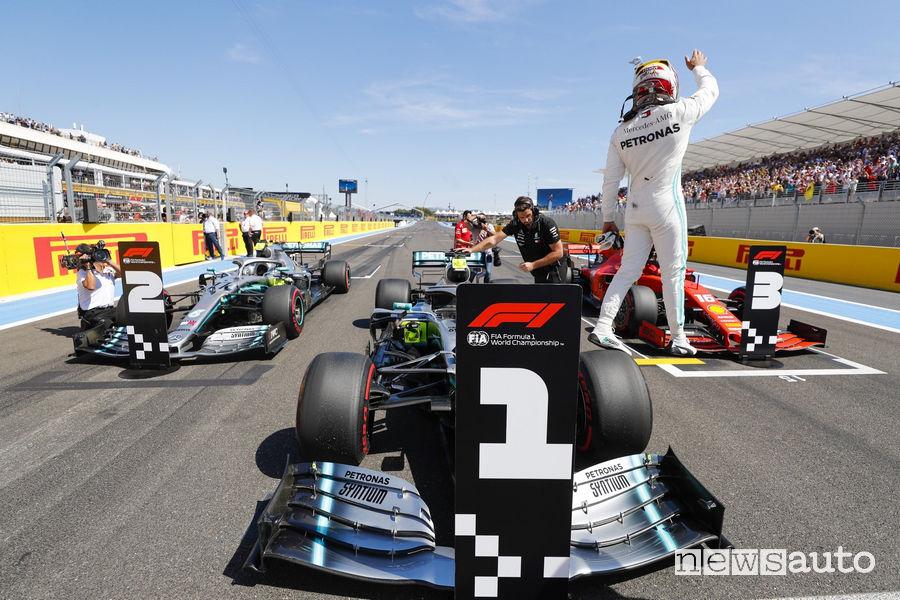 Lewis Hamilton record della pista di Paul Ricard Le Castellet