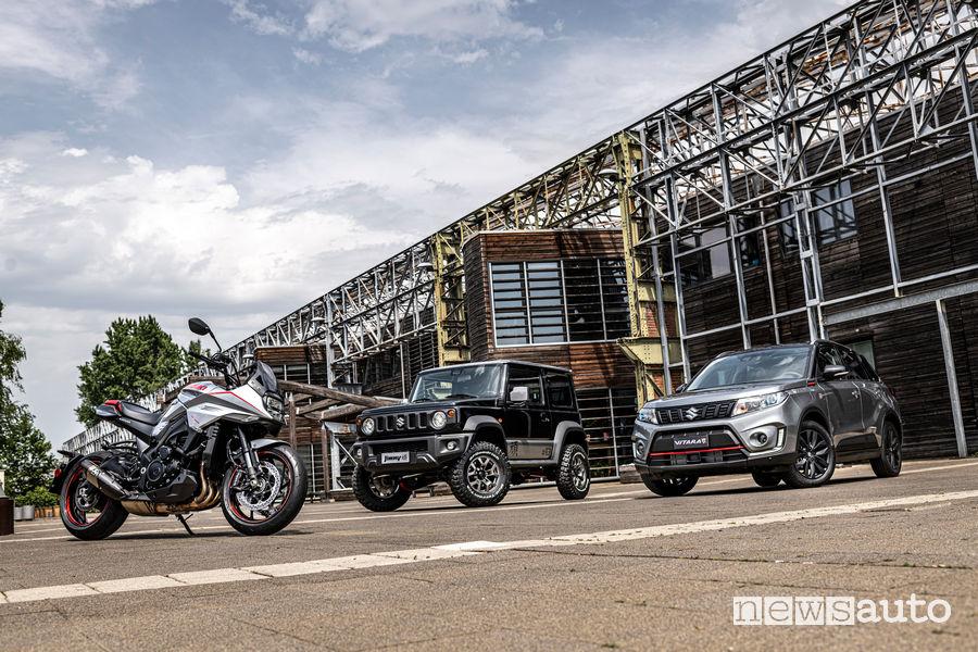 Gamma Suzuki al Salone dell'Auto Parco di Torino Valentino 2019