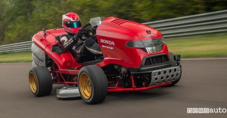 Tosaerba più veloce al mondo Honda Mean Mower V2