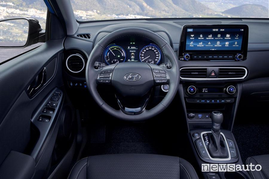 Hyundai Kona Hybrid plancia strumenti