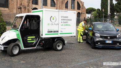 Ricarica d'emergenza per auto elettriche e-gap Roma
