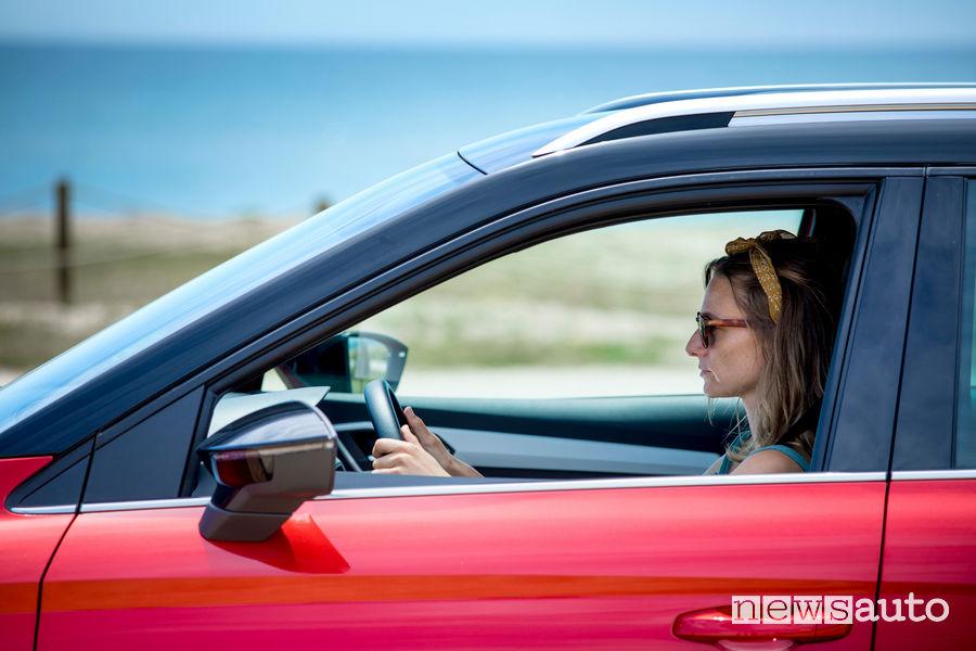 auto rovente estate finestrini