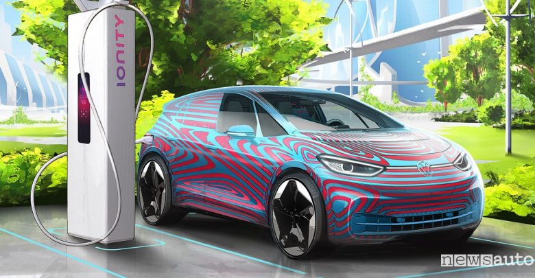 Ricarica auto elettriche Volkswagen ID.3