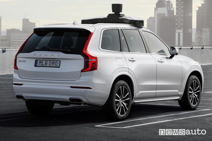Volvo XC90 a guida autonoma