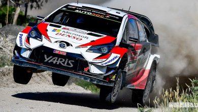 WRC Rally Portogallo 2019 Toyota Tanak
