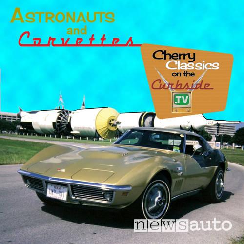 auto degli astronauti chevrolet corvette