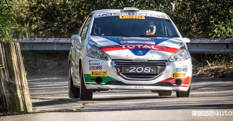 Peugeot 208 R2 al Rally di Roma Capitale 2019