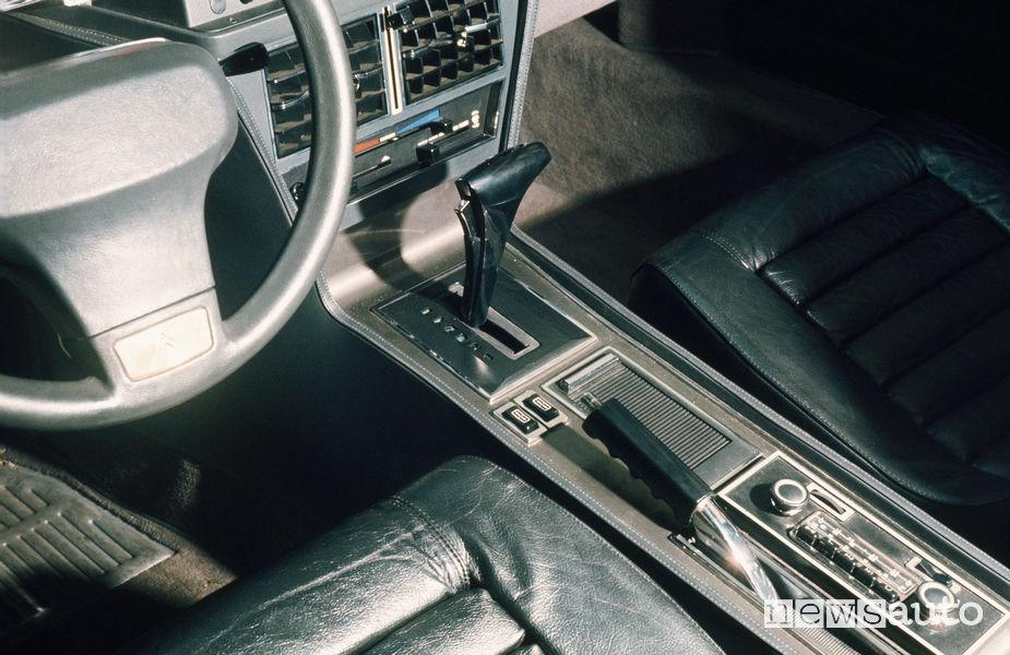 DS SM comando del cambio automatico Borg-Warner su SM (1972)