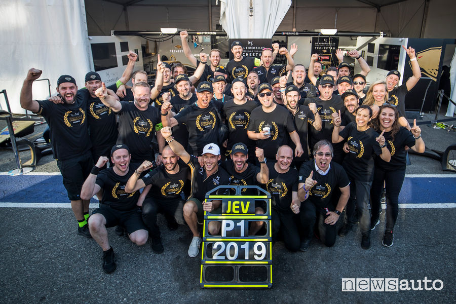 DS Techeetah team campione Formula E 2019