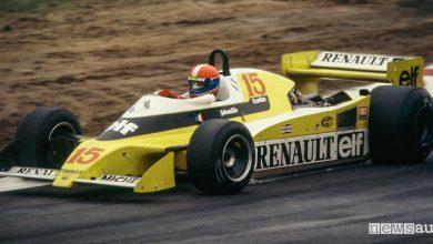 Renault turbo 40 anni F1 1979