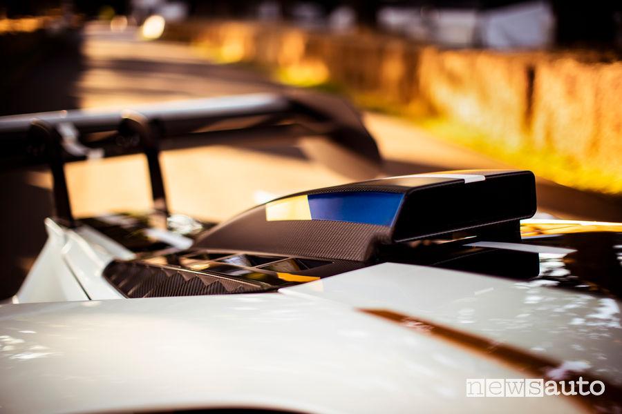 Ford GT Mk II al Goodwood Festival 2019 presa d'aria motore