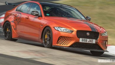 Jaguar XE SV Project 8 record al Nurburgring