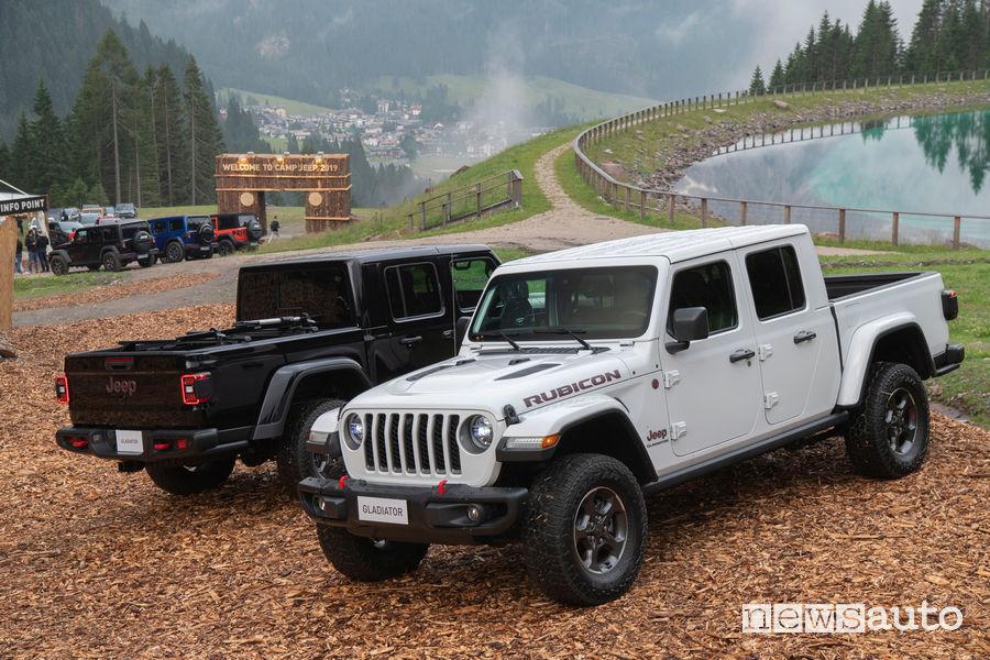Jeep Gladiator Rubicon al Camp Jeep 2019