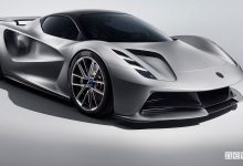Lotus Evija hypercar elettrica